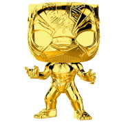 Marvel MS 10 Black Panther Gold Chrome Pop! Vinyl Figur