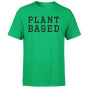 Plant Based Men's T-Shirt - Kelly Green