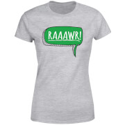 Raaawr Women's T-Shirt - Grey