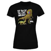 Dinosaur Unicorn Women's T-Shirt - Black