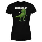 Bantersaurus Rex Women's T-Shirt - Black