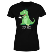 Tea Rex Women's T-Shirt - Black