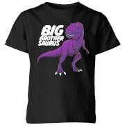 Im A Big Brothersaurus Kids' T-Shirt - Black