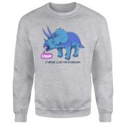 Rawr It Means I Love You Sweatshirt - Grey