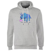 Rawr It Means I Love You Hoodie - Grey