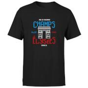 Champs Elysees Men's T-Shirt - Black