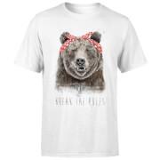 Break The Rules Men's T-Shirt - White