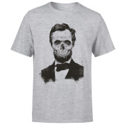 Suited And Booted Skull Men's T-Shirt - Grey