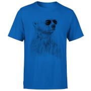 Cool Bear Men's T-Shirt - Royal Blue