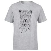Leopard Men's T-Shirt - Grey