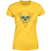 Skull Women's T-Shirt - Yellow