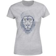 Lion Women's T-Shirt - Grey