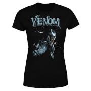 Venom Profile Damen T-Shirt - Schwarz