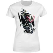 Venom Chest Burst Damen T-Shirt - Weiß