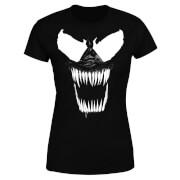Venom Bare Teeth Women's T-Shirt - Black