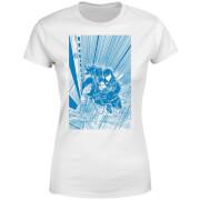 Venom Comic Panel Women's T-Shirt - White