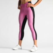 IdealFit 7/8 Tights with Side Pocket - Mauve