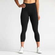 IdealFit 7/8 Tights with Side Pocket - Black