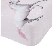 Catherine Lansfield Enchanted Unicorn Fitted Sheet - Pink