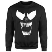 Venom Bare Teeth Sweatshirt - Black