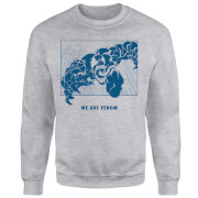 Venom We Are Venom Sweatshirt - Grey