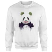 Joker Panda Sweatshirt - White