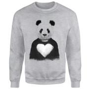 Panda Love Sweatshirt - Grey