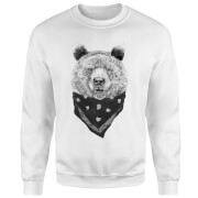 Bandana Panda Sweatshirt - White