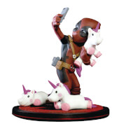 Marvel Deadpool Unicorn Selfie Diorama Q-Fig
