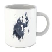 Singing Wolf Mug