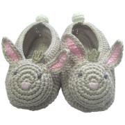 Albetta Crochet Beatrice Bunny Booties