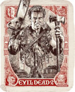 Evil Dead 2 - Zavvi Exclusive 4K Ultra HD Steelbook (Includes 2D Blu ray)