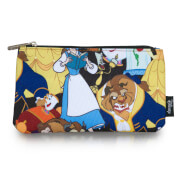 Loungefly Disney Beauty and the Beast AOP Pencil Case