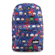 Loungefly Marvel Avengers Chibi AOP Backpack
