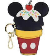 Loungefly Disney Mickey Mouse Ice Cream Cone Coin Bag