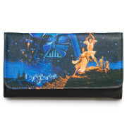 Loungefly Star Wars Luke, Leia Photo Real Wallet
