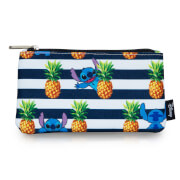 Loungefly Disney Stitch Stripes Pineapple AOP Pencil Case