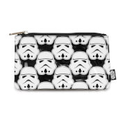 Loungefly Star Wars Stormtrooper All Over Print Pencil Case - Black/White