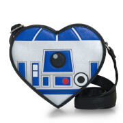 Loungefly Star Wars R2-D2 Heart Shaped Diecut Cross Body Bag