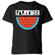My Little Rascal Paradise Kids' T-Shirt - Black