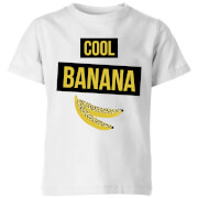 My Little Rascal Cool Banana Kids' T-Shirt - White
