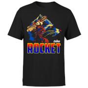 T-Shirt Homme Rocket Raccoon Avengers - Noir