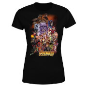Avengers Team Portrait Women's T-Shirt - Black