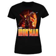 Avengers Iron Man Damen T-Shirt - Schwarz