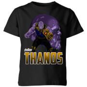 Avengers Thanos Kinder T-shirt - Zwart