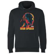 Sweat à Capuche Homme Iron Spider Avengers - Noir