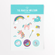 The Magical Unicorn Sticker Pack