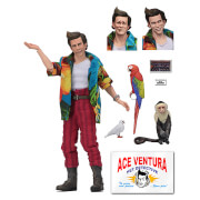 NECA Ace Ventura: Pet Detective Ace Ventura 8 Inch Clothed Action Figure