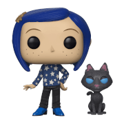 Coraline with Cat Buddy Pop! Vinyl Figure