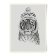 Winter Tiger Art Print